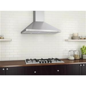 Ancona 36-in Wall-Mounted Range Hood (Stainless Steel)