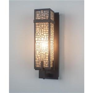 Levico Lighting Manhattan 14.25-in x 5-in Single Light Wall Sconce