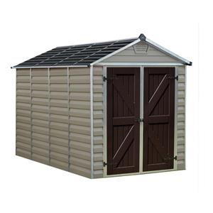 Palram 6-ft x 10-ft Beige Storage Shed