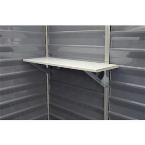 Palram Storage Shelf - White