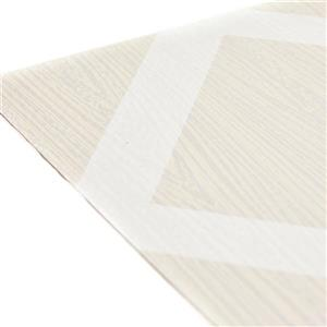 WallPops Illusion Peel and Stick Floor Tiles - 10-Pack