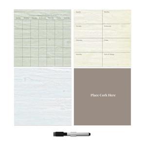 WallPops Peelable Organization Kit - Weathered