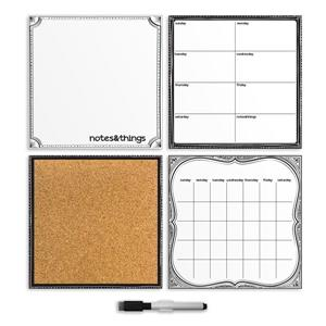 WallPops Peelable Organization Kit - White