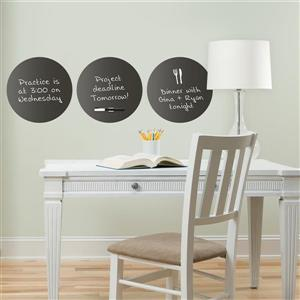 WallPops Dry Erase Dot Decals - Charcoal