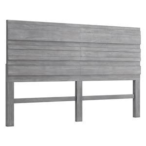 Zuo Modern Cavin King Headboard - 78-in - Grey