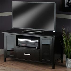 Winsome Wood Bradford Espresso Wood Media TV Stand