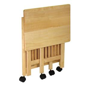 Winsome Wood 24-in x 27-in Honey Wood Foldable Printer Stand