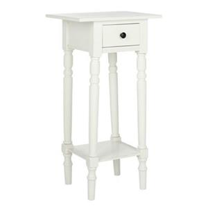 Safavieh 31.90-in x 13.80-in Marge Distressed Cream Nightstand