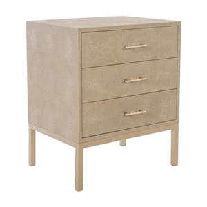 Safavieh 25.98-in x 24.65-in Couture Camden Nightstand