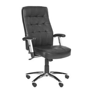 Safavieh 47-in Black Olga Desk Chair