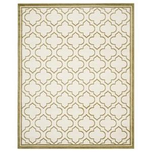 Safavieh Amherst Ivory and Light Green Area Rug,AMT412A-8