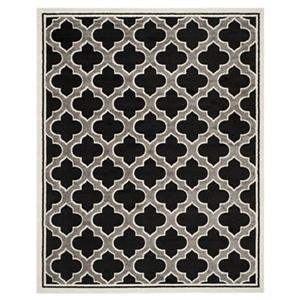 Safavieh Amherst Anthracite and Ivory Area Rug,AMT412G-8