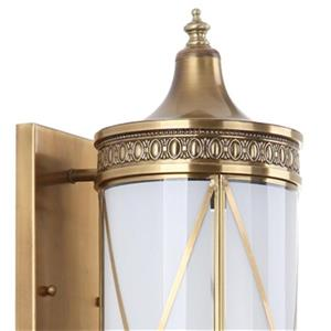 Safavieh Darby 29.50-in Brass Wall Sconce