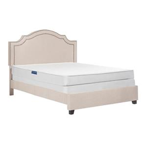 Safavieh 80-in x 76-in Clarity 6-in Spring Mattress