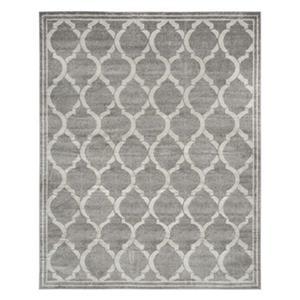 Safavieh Grey and Light Grey Amherst Indoor/Outdoor Rug,AMT4