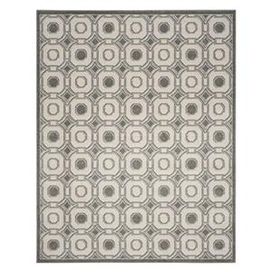 Safavieh Ivory and Grey Amherst Indoor/Outdoor Rug,AMT431E-8
