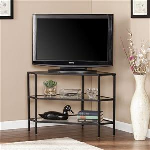 Boston Loft Furnishings Naois Matte Black Corner TV Stand