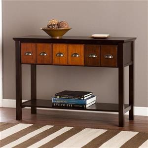 Boston Loft Furnishings Dawson Espresso Composite Casual Console Table