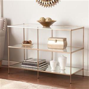 Boston Loft Furnishings Kili Clear Glass Modern Sofa Table