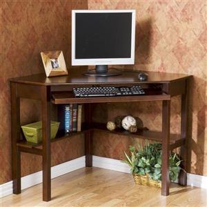 Boston Loft Furnishings Alcott Espresso Corner Writing Desk