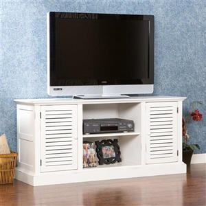 Boston Loft Furnishings Antebellum Antique White TV Cabinet