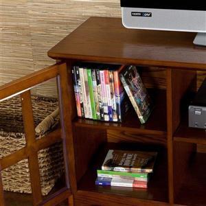 Boston Loft Furnishings Remington Mission Oak TV Cabinet