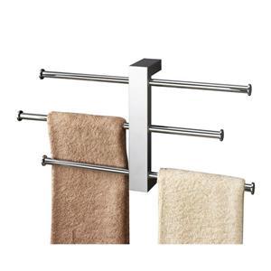Nameeks Bridge Chrome Wall Mount Towel Rack