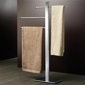 Nameeks Bridge Chrome Towel Rack