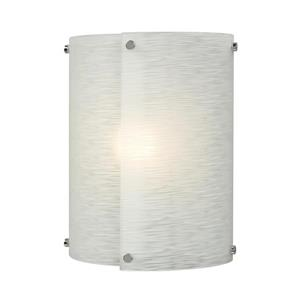 Galaxy Madeo 9-in W 1 Light Polished Chrome Pocket Wall Sconce