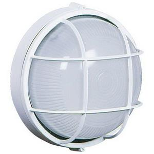 Artcraft Lighting Marine 10-in x 10-in White Outdoor Wall Light