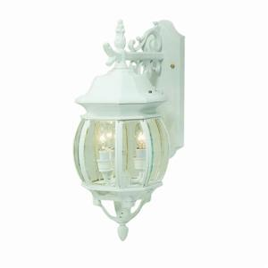 Artcraft Lighting Classico 19.50-in x 8-in White Outdoor Wall Light