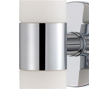Eurofase Vesper 20-in W 1-Light Chrome  Arm Hardwired Standard Wall Sconce