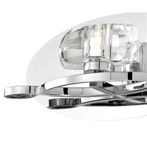 Eurofase Buca 11.75-in W 1-Light Chrome Arm Wall Sconce