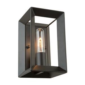 Artcraft Lighting Vineyard 5-in W 1-Light Matte black Pocket Wall Sconce