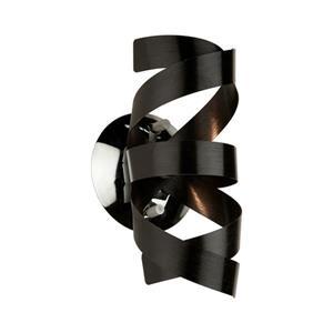 Artcraft Lighting Bel Air 5-in W 1-Light Black Wall Wash Wall Sconce