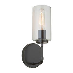 Steven & Chris by Artcraft Ray 4.75-in Oil-Rubbed Bronze 1 Light Arm Wall Sconce
