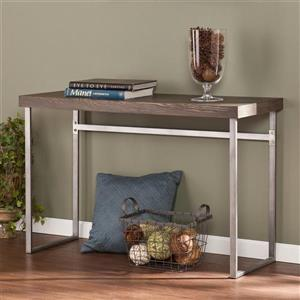 Boston Loft Furnishings Addeo Burnt Oak Composite Modern Console Table