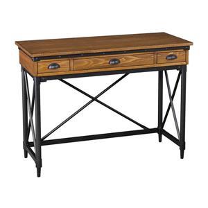 Boston Loft Furnishings Lati Salem Antique Oak Writing Desk
