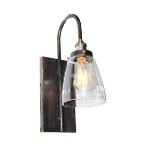 Artcraft Lighting Greenwich 5.5-in W 1-Light Multi-Tone Brown/Copper Industrial Arm Hardwired Wall Sconce