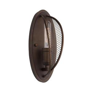 Artcraft Lighting Linden 4.75-in W 1-Light Bronze Modern/Contemporary Ambient Hardwired Standard Wall Sconce