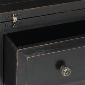 Safavieh Abigail Black Fold-Down Writing Desk