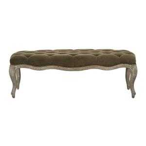 Safavieh Mercer Ramsey 17.50-in x 52.40-in Spruce Indoor Accent Bench