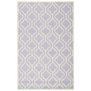Cambridge Lavender and Ivory Area Rug