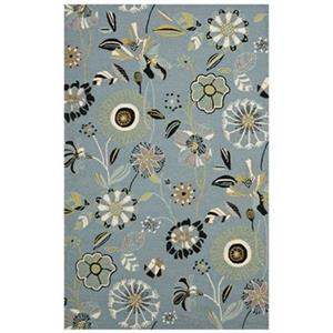 Safavieh FRS482B Four Seasons Area Rug, Blue / Multi,FRS482B
