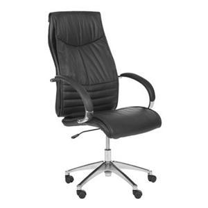 Safavieh 45.7-in Black Martell Desk Chair