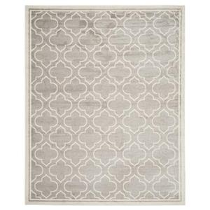 Safavieh AMT412B Amherst Light Grey and Ivory Area Rug,AMT41