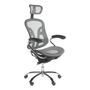 Safavieh Fox 48-in Grey Jarlan Desk Chair