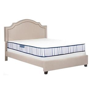 Safavieh 80-in x 60-in Tranquility 8-in Spring Mattress