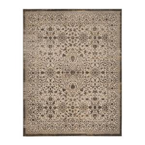 Brilliance Cream and Bronze Area Rug