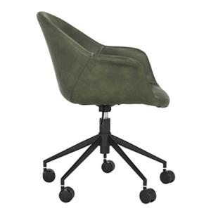 Safavieh 31.5-in Green Ember Office Chair